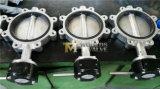 Tipo valvola a farfalla (D7L1X-10/16) dell'aletta dell'acciaio inossidabile