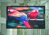 P7.62 vervollkommnen Anblick-Effekt farbenreiche Innenbaugruppen-druckgießenden Aluminiumschrank des LED-Bildschirm-LED