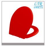 Europäischer Standard-Weiche-Abschluss-roter Toiletten-Sitz