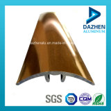 Profilo di alluminio di alluminio popolare per l'angolo della ceramica del testo fisso delle mattonelle