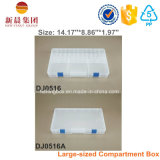 투명한 명확한 부속품 플라스틱 저장 상자