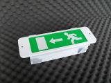 출구 표시 (PR808MLED)를 가진 유지된 LED 비상등