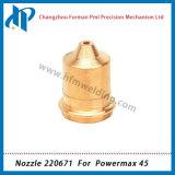 220671 сопла для систем Powermax 45 плазменного резака материалы 45A