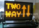소통량 관리를 위한 조밀한 차량 거치된 전보국 교통 표지