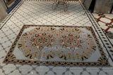 Hotel-und Gaststätte-moslemische Art-goldene Teppichboden-Fliesen