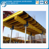 Форма-опалубка таблицы для конструкции бетонной стены
