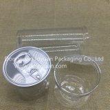 Botella sólida plástica del acondicionamiento de los alimentos