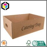 Caixa de transporte de empacotamento ondulada vegetal de Apple da fruta fresca