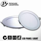 El nuevo diseño 6W adelgaza la luz del panel del LED con el CE (redondo)