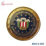 Kundenspezifische Polizeidienststelle-Gerechtigkeit-Großhandelsmünzen für Andenken