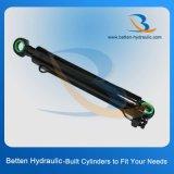 Cilindro hidráulico de híbrido de pistão de dupla ação personalizado