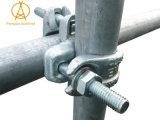 Acoplador doble para el tubo del andamio