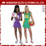OEM обслуживает женское плотно платье Netball печатание сублимации (ELTNBJ-153)
