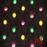 Impressão de lã de lã de coral de dupla face Tecidos para uso doméstico, Pijamas de flanela