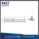 Moinho de extremidade elevado do carboneto de tungstênio da dureza para a ferramenta de estaca