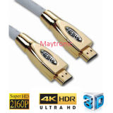 2.0 haute vitesse prise en charge HDMI Câble Ethernet