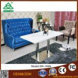 Mobiliário de Guangzhou moderna sala de estar sofás de couro