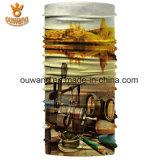 昇進のロゴの押印の卸売のスカーフのバンダナ