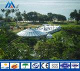Tienda mongol de lujo de Yurt del marco del aluminio y del bambú