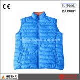 100% Nylon Casual Body Warmer Light Weight Down Vest