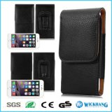 Caisse en cuir verticale de poche d'étui de clip ceinture pour l'iPhone 8 d'Apple