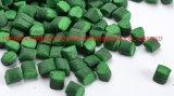 Film Blow Grade Malla madre de plástico verde de color