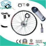 Batería de tipo botella Kit bicicleta eléctrica con motor de accionamiento de 350W