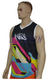 Breathable polyester Mesh Dri fit Mens Gym Singlet (SL024)