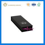 Qualitäts-Menschenhaar-Extensions-verpackengeschenk-Kasten (mit purpurroter Folie des kundenspezifischen Firmenzeichens)