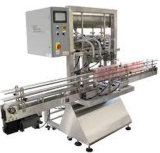 Polvo semi-automática máquina de rellenar máquina de etiquetado