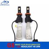 lumière principale de la puce H8 H9 H11 H16jp DEL de 20W 2600lm 6000k Osram pour le phare de polo de VW