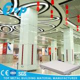 Vidrio de fibra y el panel de aluminio combinado Rockwool para el techo falso