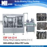 Heißer verkaufender automatischer Monoblock Mineralwasser-füllender Produktionszweig