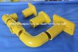 Tubo quadrato di FRP/GRP/profili di Pultruded/tubo della vetroresina