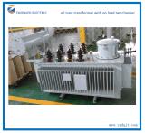 De olie koelde de Stootkussen Opgezette Transformator van de Distributie van de Stroom