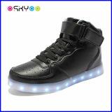 Hoog Hoogste Opvlammend Licht op LEIDENE Schoenen