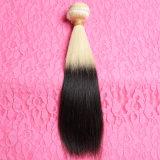 Uitbreidingen van het Haar van Ombre de Braziliaanse 12-30 Duim Wortels 1B 613 van het Bleekmiddel van de Donkere Bundels van het Menselijke Haar van Ombre van de Rang van het Haar van de Blonde de Maagdelijke 8A