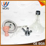 Crystal Hookah Garrafa de vidro Tubo de água