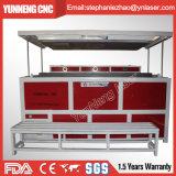 Doppelter Effekt-Acrylvakuum, das Thermoforming Maschine mit zwei Countertops bildet