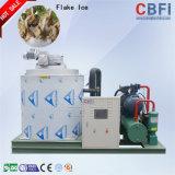 Máquina de hielo en escamas pescado refrigerado