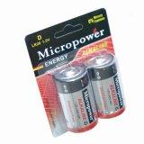 Super 1,5V piles alcalines LR20 d taille les piles pour lampe de poche