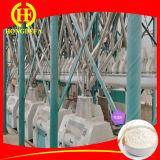A planta completa da fábrica de moagem do trigo