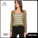 Ladies Summer Open Knit Sweater Top