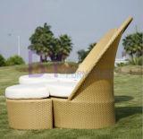 O Rattan ao ar livre do PE preside a mobília do jardim do lazer