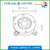 IP68 het Licht LEIDENE van de met duikvermogen van de Lamp van de Fontein Ring van de Fontein