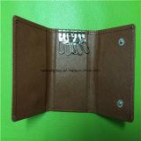 Kundenspezifisches PU-Leder oder echtes Leder Keycase/Schlüsselbeutel