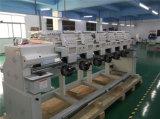 6 Tapa computarizado de cabeza plana de la máquina de bordado bordados industriales de la máquina con pantalla táctil de 10 pulg.