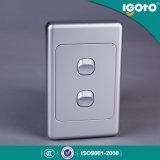 Comme l304-V SAA Australian Standard de 2 g de l'interrupteur à 2 voies