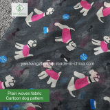 Signora Scarf di modo dello scialle stampata cane viscoso del fumetto di 100% più nuovo