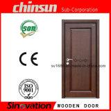 Puerta corredera de madera con madera sólida pintada